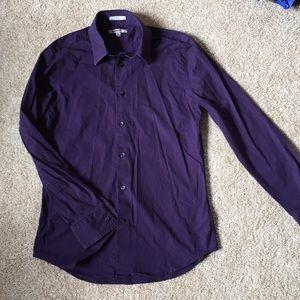 Plum express dress shirt